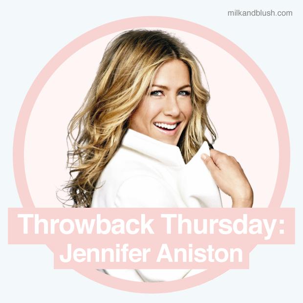 Throwback Thursday Jennifer Anistons Hair Hair Extensions Blog