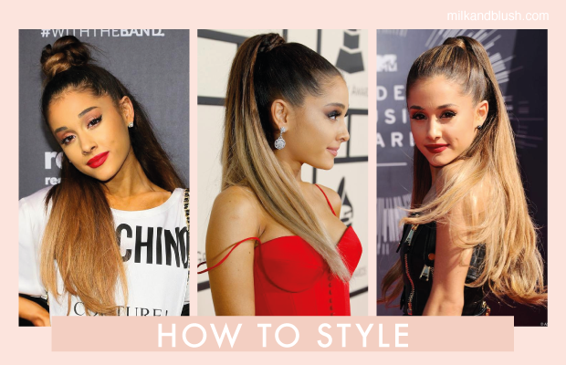 how to style hair look how to get hair like grande hair extensions 4880