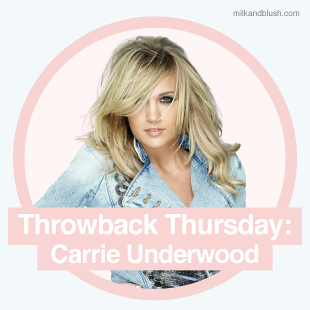 Throwback Thursday Carrie Underwoods Hair Hair Extensions Blog