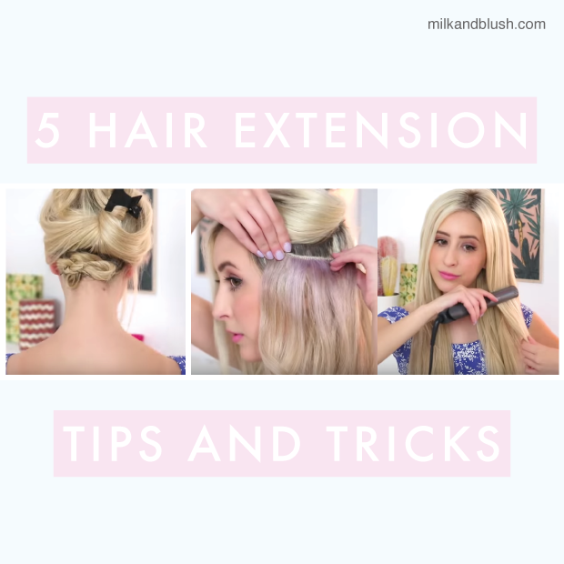 5 hair extension tips and tricks hair extensions blog hair 5 hair extension tips and tricks pmusecretfo Images