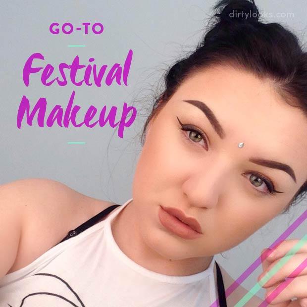 Go-To Festival Makeup