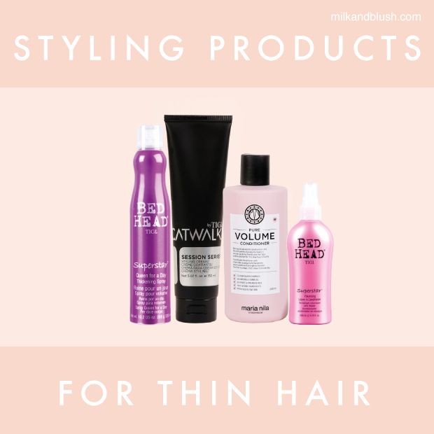 Styling Products For Thin Hair \/ Hair Extensions Blog