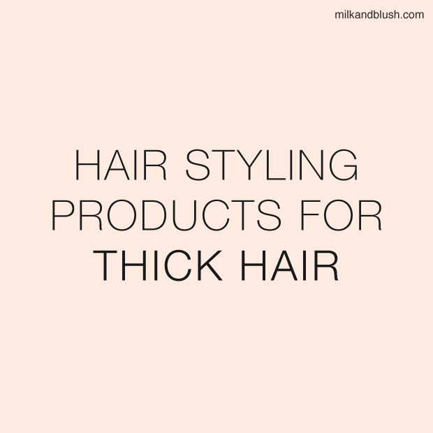 Hair Styling Products For Thick Hair / Hair Extensions