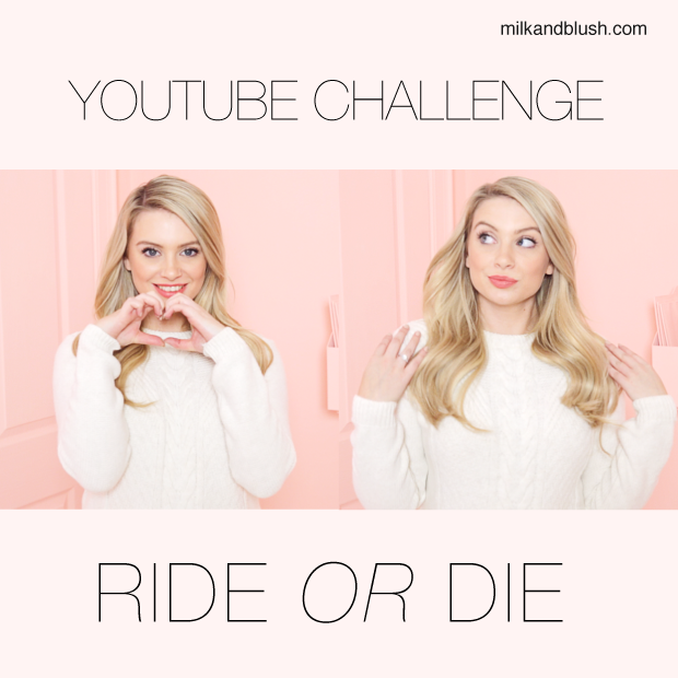 Youtube Challenge Ride Or Die Hair Extensions Blog Hair