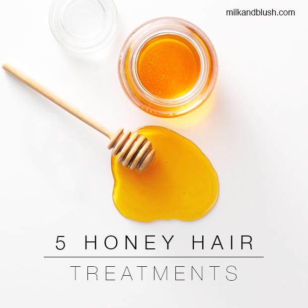 5 honey hair treatments