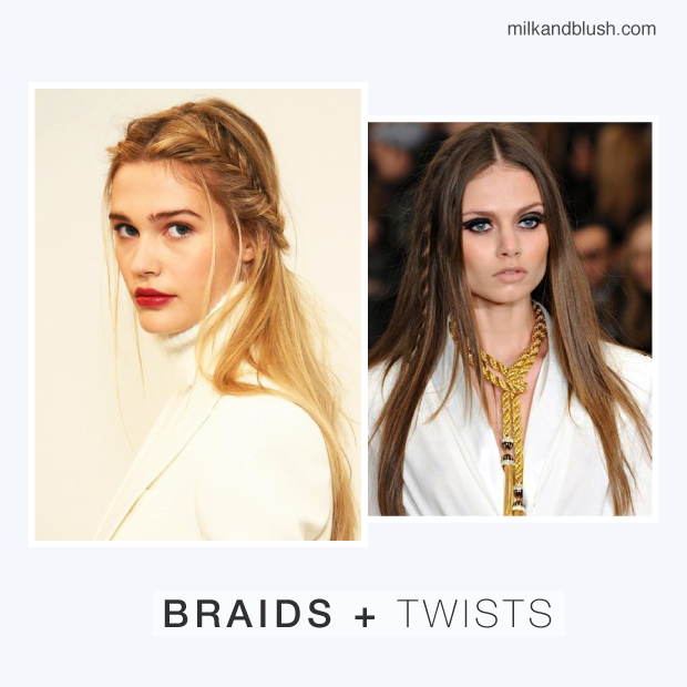 winter hair trends braids and twists