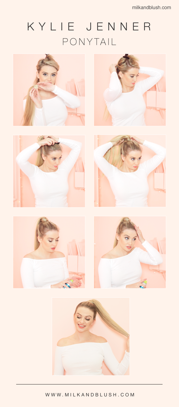 The Kylie Jenner Inspired Ponytail guide
