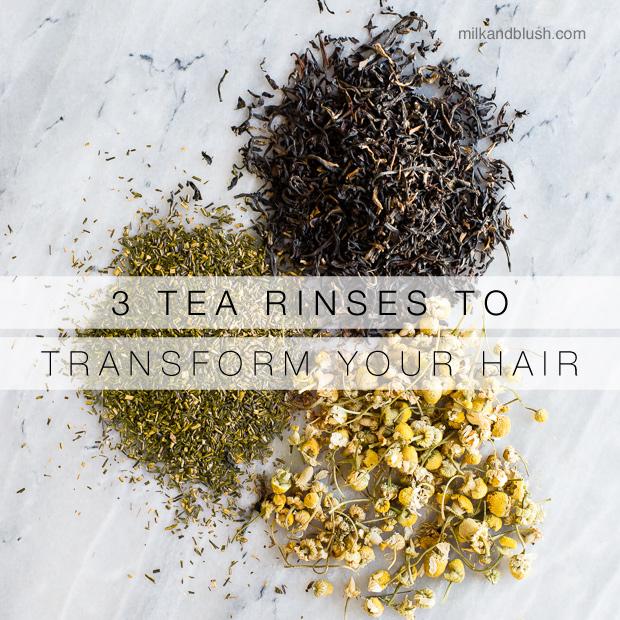 3 Tea Rinses To Transform Your Hair Hair Extensions Blog Hair