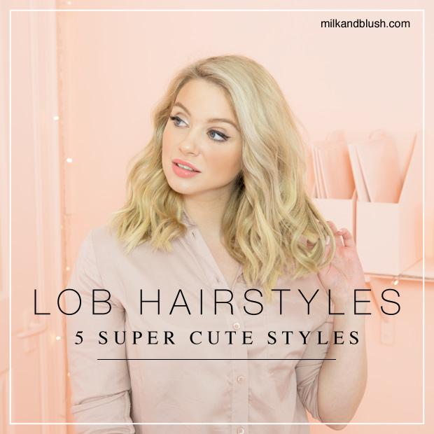 5 Super Cute Lob Hairstyles Hair Extensions Blog Hair Tutorials