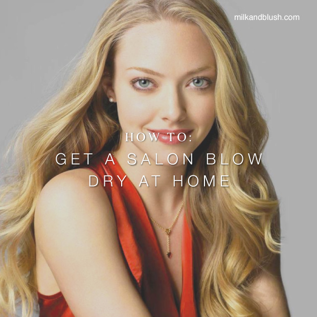 How To Achieve A Salon Blow Dry At Home Hair Extensions Blog
