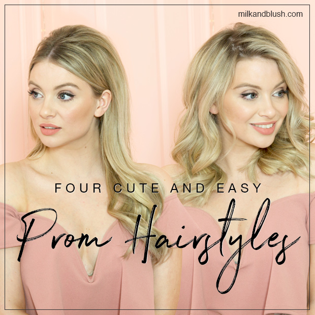 Four cute and easy prom hairstyles hair extensions blog hair prom season is on the horizon which means if youre heading to prom your stress levels are going to be like when kim k lost her diamond earring in the urmus Images