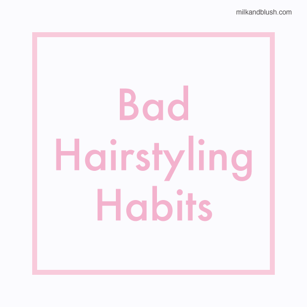 bad-hairstyling-habits