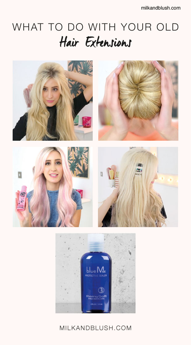 What to do with your old hair extensions hair extensions blog what to do with old hair extensions guide pmusecretfo Image collections