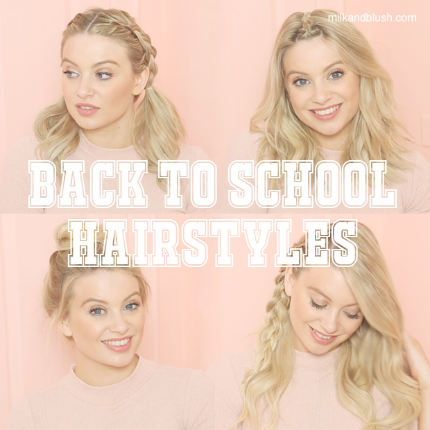 BACK TO SCHOOL HAIRSTYLES | Hair Extensions Blog | Hair Tutorials & Hair Care News