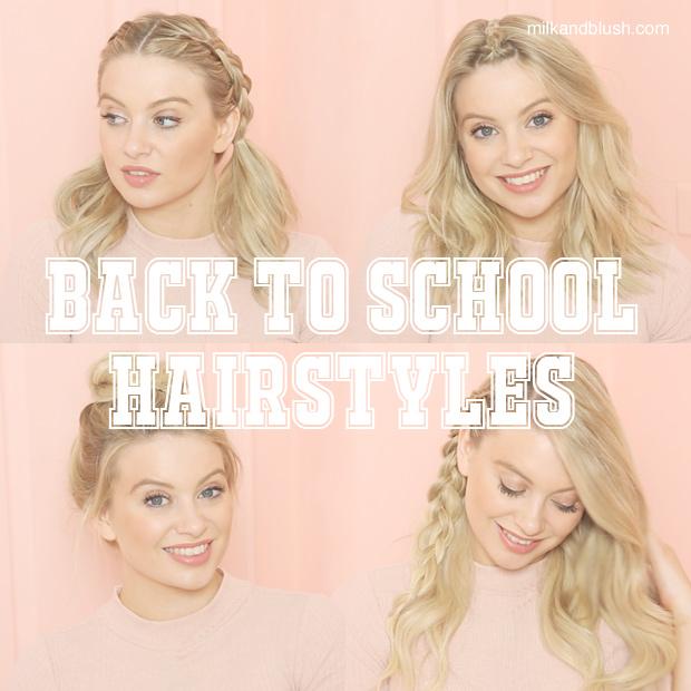 back to school hairstyles | Hair Extensions Blog | Hair Tutorials ...