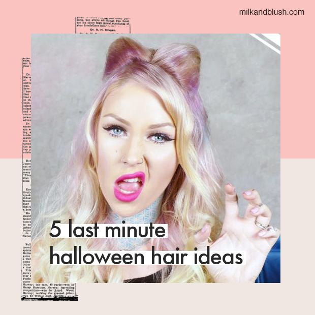 ast-minute-halloween-hair-ideas