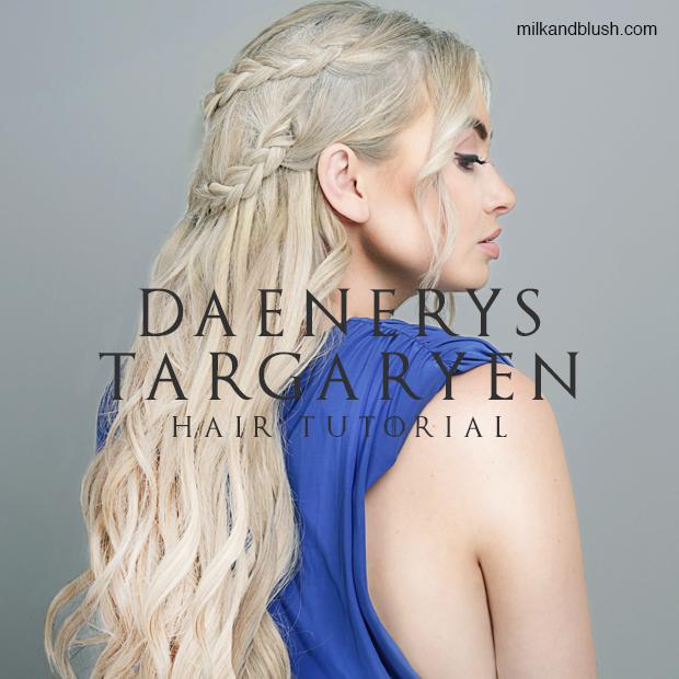 How To Game Of Thrones Daenerys Targaryen Halloween Tutorial Hair