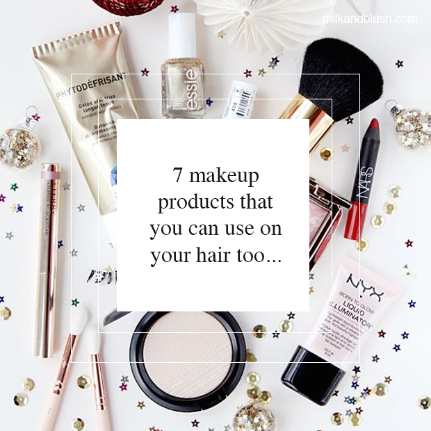 makeup-products-that-you-can-use-on-your-hair-too