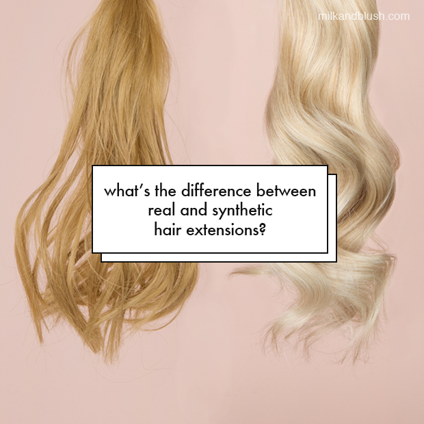 Whats The Difference Between Real And Synthetic Hair Extensions