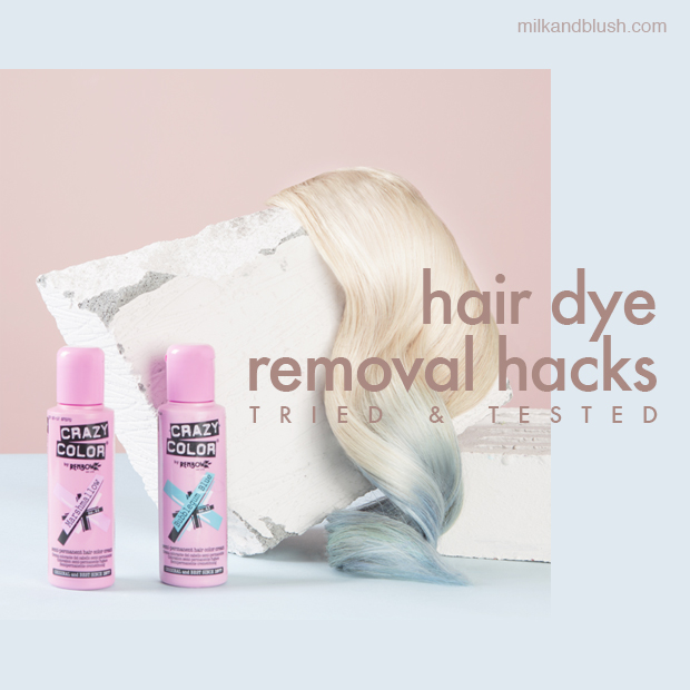 Tried Tested 5 Ways To Remove Hair Dye Hair Extensions Blog