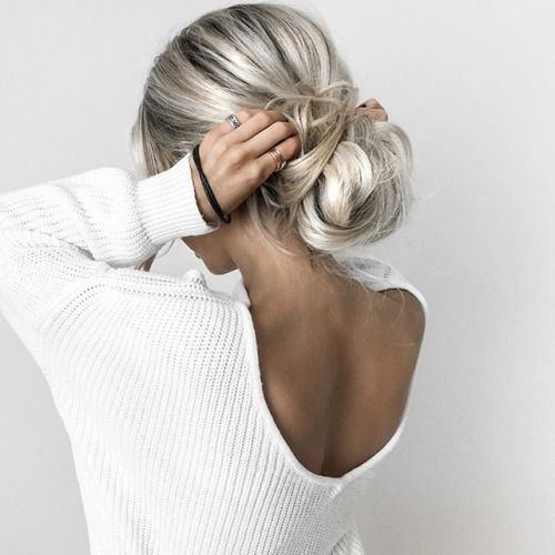 How To Create The Perfect Messy Bun For Your Hair Length Hair