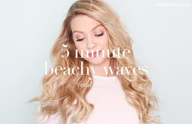 5-minute-beachy-waves-hair-extensions-milk-and-blush-blog