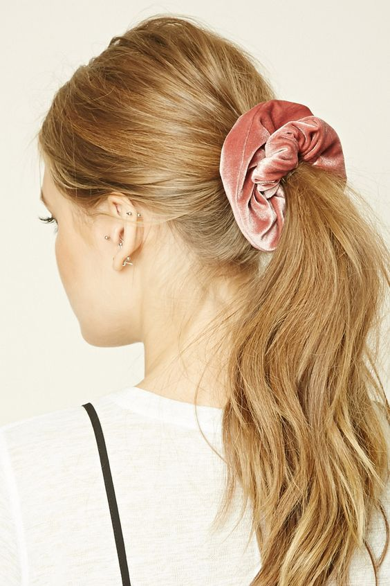Hair Trends: How To Wear a Scrunchie in 2018 / Hair ...
