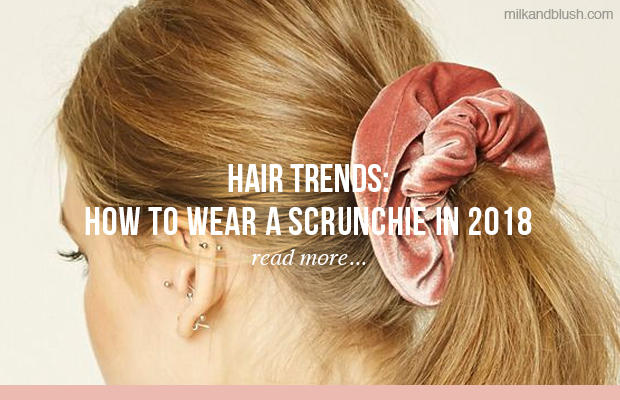 hair-trends-how-to-wear-a-scrunchie-in-2018