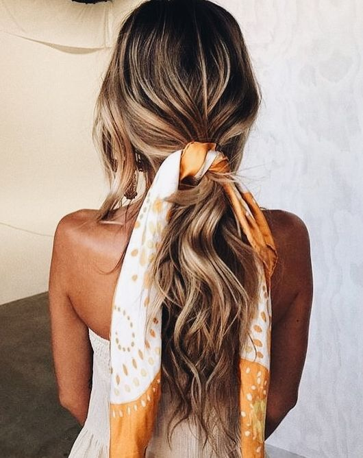 5 Scarf Hairstyles That Are Perfect For The Summer Hair Extensions
