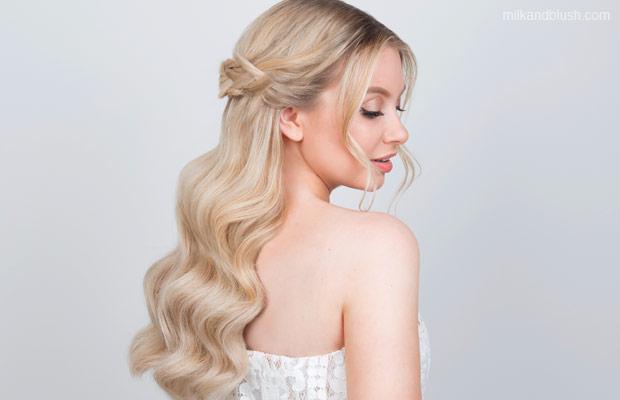 Bridal-Hairstyles-that-you-can-do-yourself-hair-extensions-milk-and-blush-Braided_Crown