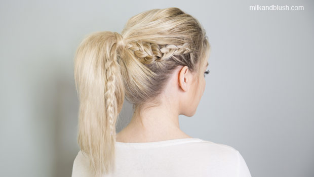 braided-ponytail-medium-heatless-hairstyles-milk-and-blush-hair-extensions-blog