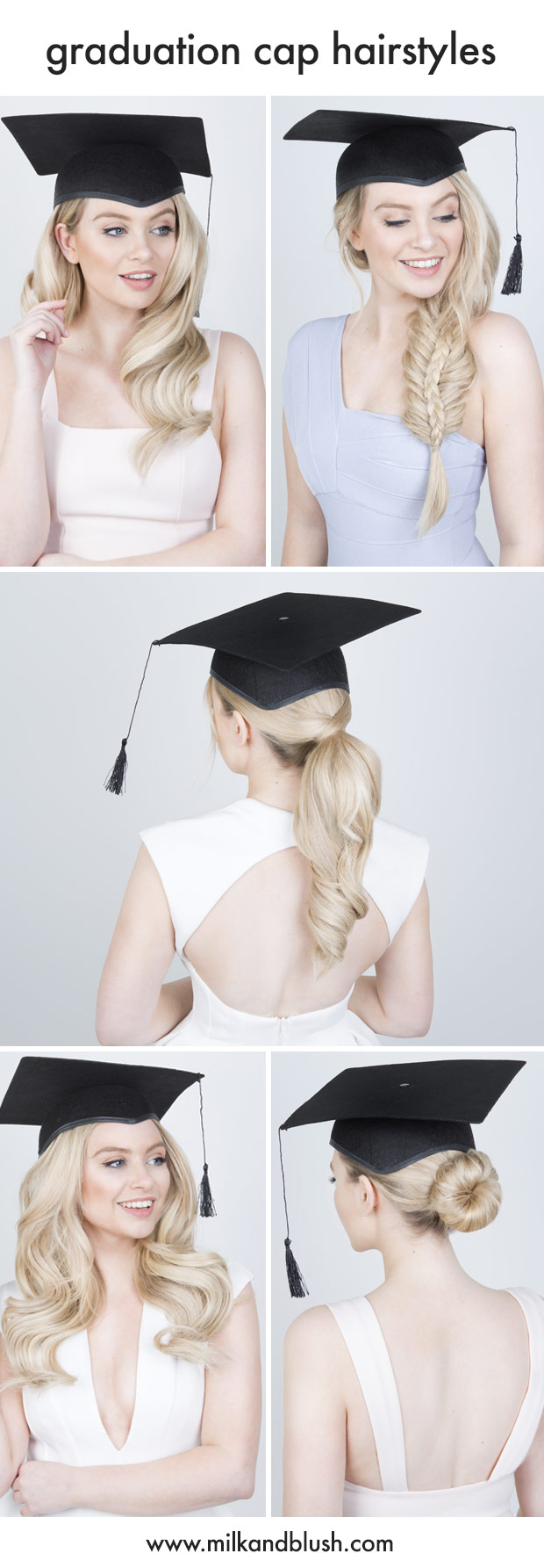 5 Graduation Cap Hairstyles Hair Extensions Blog Hair Tutorials