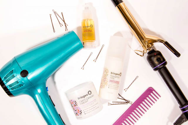 Protection From Heat Generated By Heat Styling Products like a Blow Dryer or A Straightening or Curling Iron
