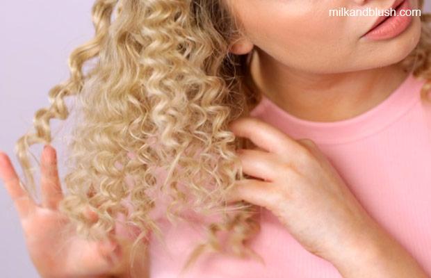 heatless-perm-milk-and-blush-step-1-wet-hair