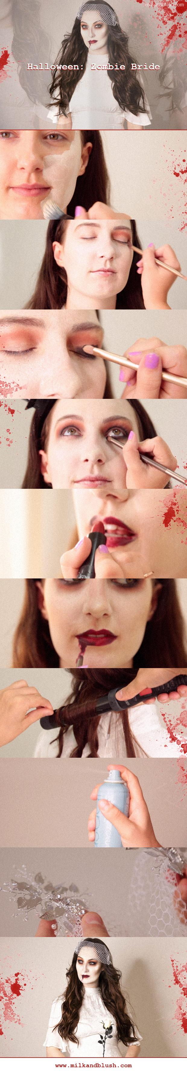 milk-and-blush-halloween-zombie-bride
