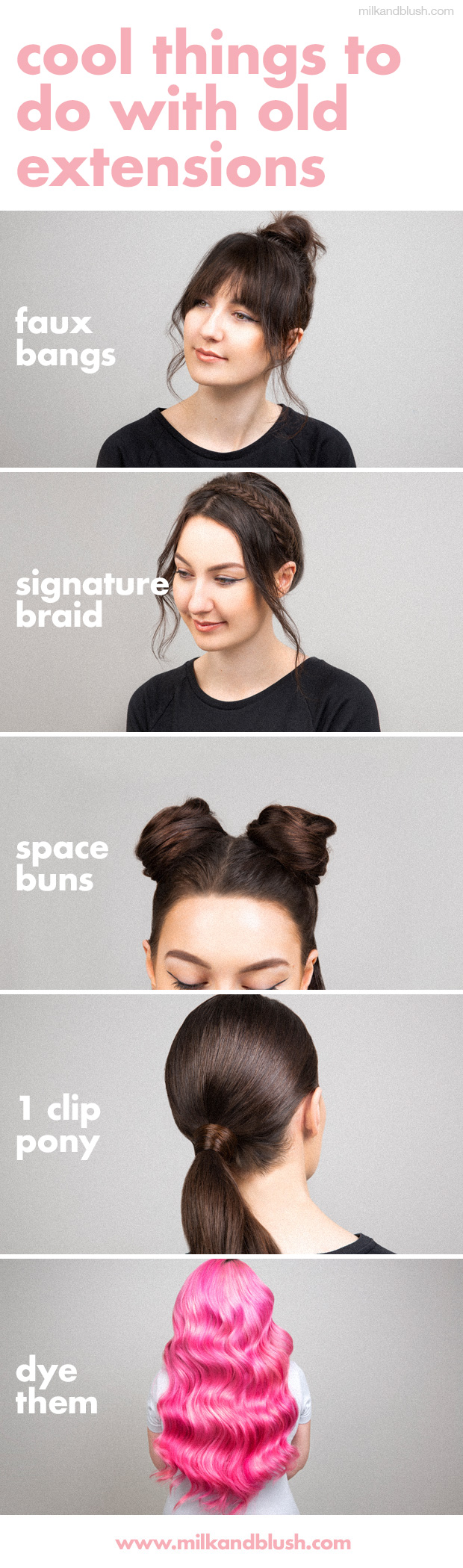 https://www.milkandblush.com/blog/5-cool-things-you-can-do-with-your-old-extensions