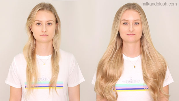 milk-and-blush-before-and-after-hair-extensions