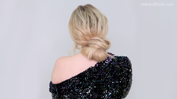 Christmas Party Hairstyles.Day To Night Christmas Party Hair Tutorial Soft Waves To A