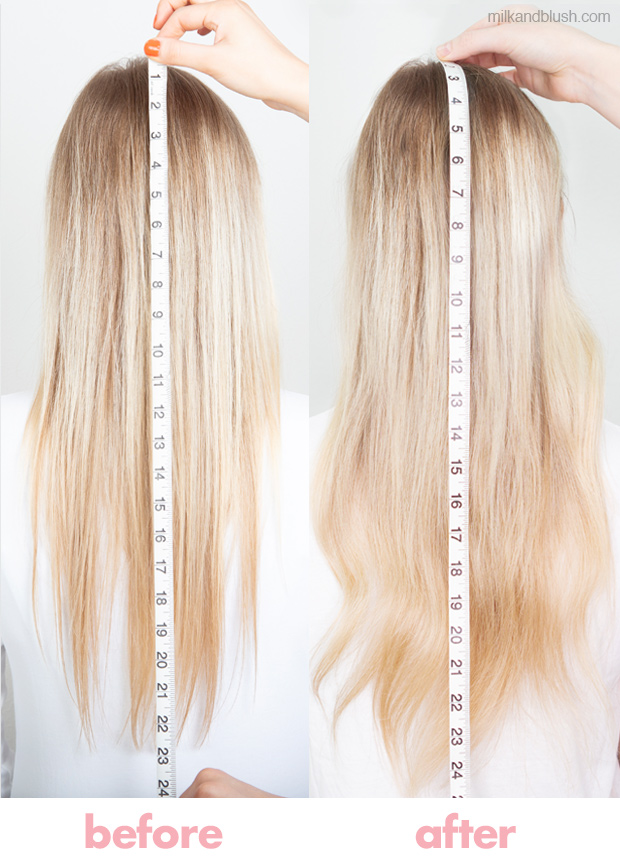 review-milk-and-blush-hair-extensions-hairburst-supplements-review