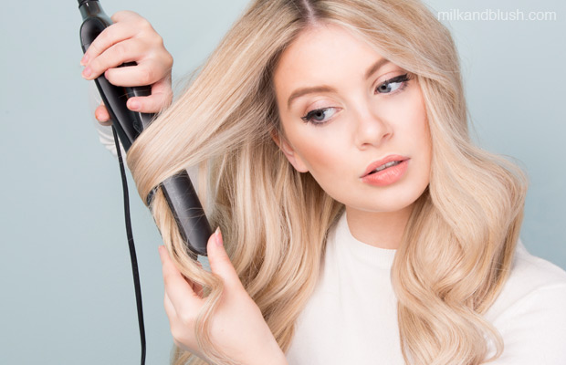 do-straighteners-make-your-hair-greasy-milk-and-blush