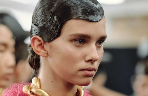 The Coolest Hairstyles From LFW | Hair Extensions Blog | Hair ...