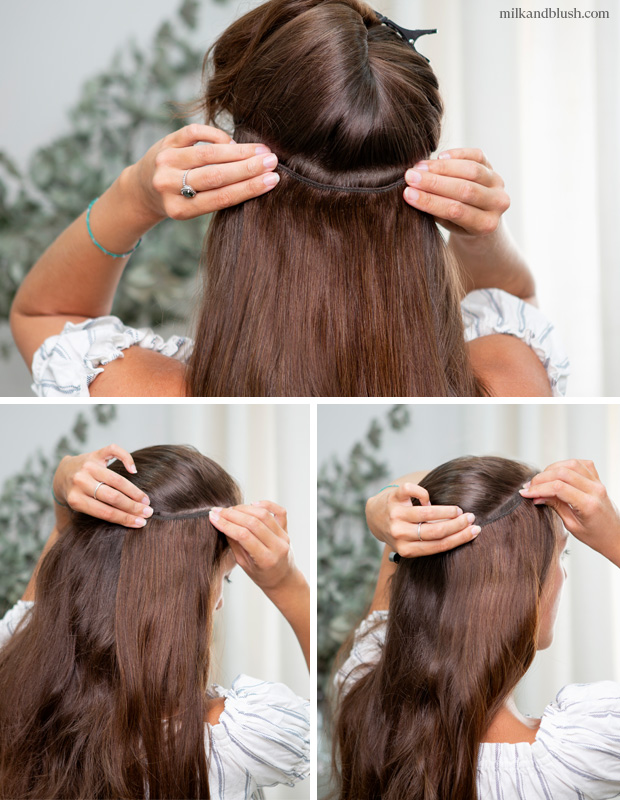 how-to-clip-in-superior-hair-extensions-1-milk-and-blush-blog
